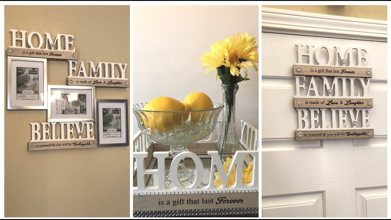Dollar Tree DIY 💕 2018 Spring Home Decor Ideas