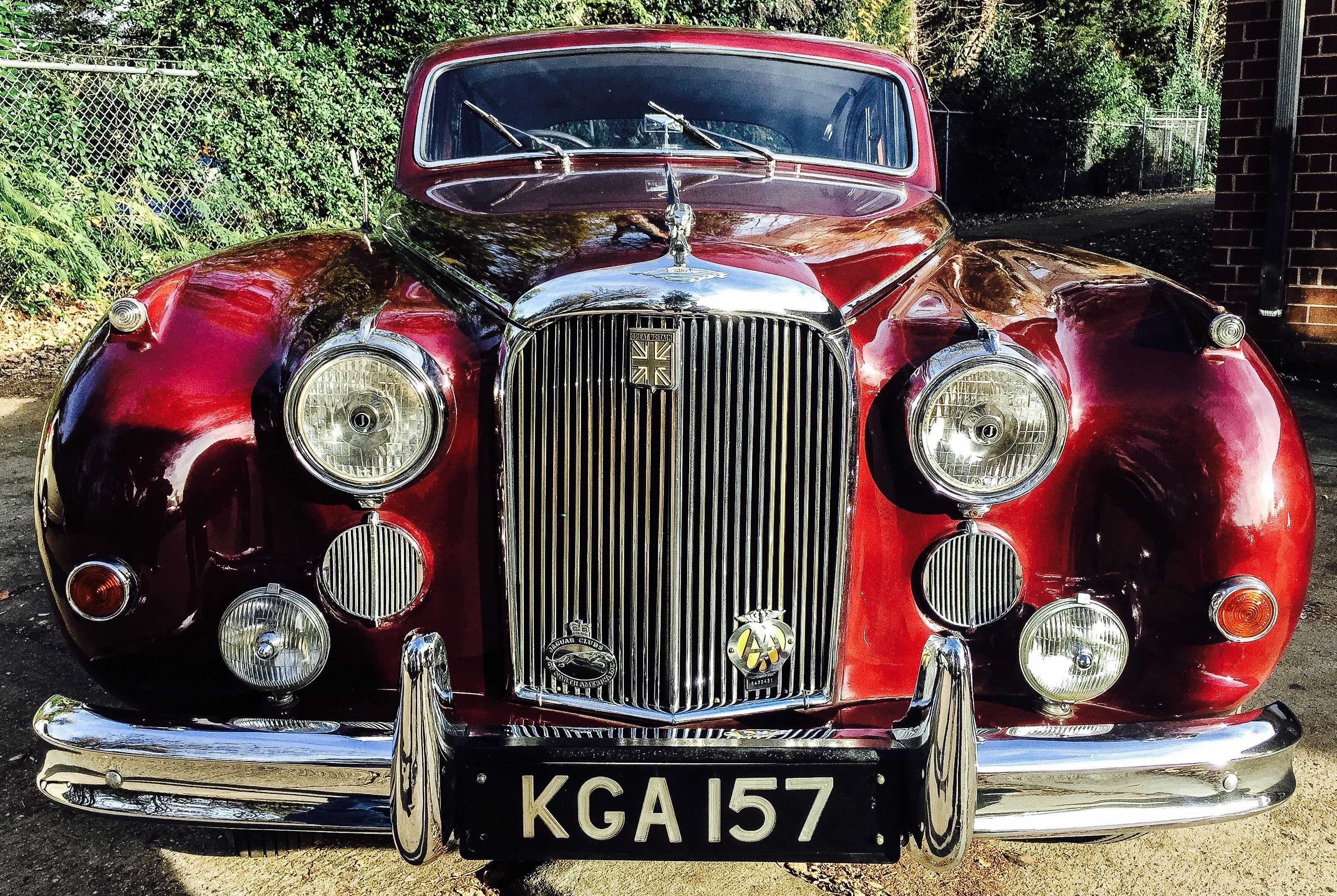 1957 Jaguar Mark VIII Friday March 4th, 2016. GAA