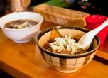 This small, slightly shabby eatery in the backstreets of Shimokitazawa is a haven for yakuzen cuisine: vegetarian food that's purported to h...