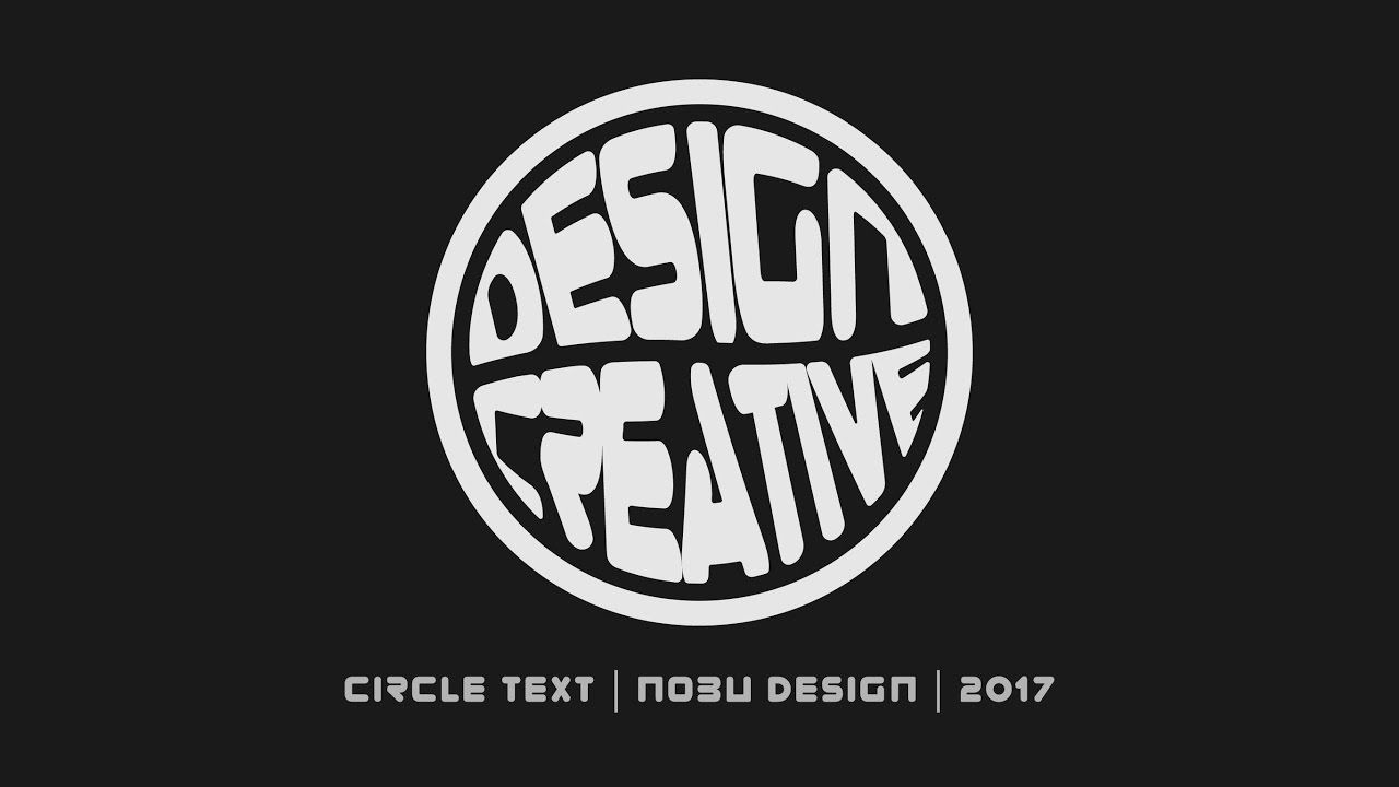 How to Make Circle Typography in Adobe Illustrator