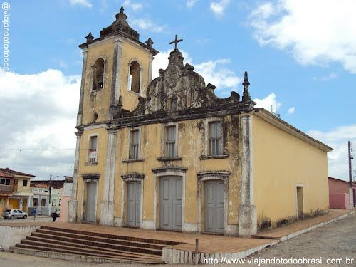 Igreja de Nossa Senhora do Rosário dos Homens Pretos - Tracunhaém  Foto:Sergio Falcetti