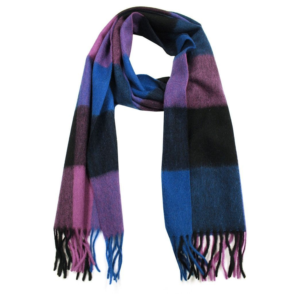 Fleece vs flannel  MultiColored Cashmere Wool Blend Flannel Scarf  Cashmere wool and