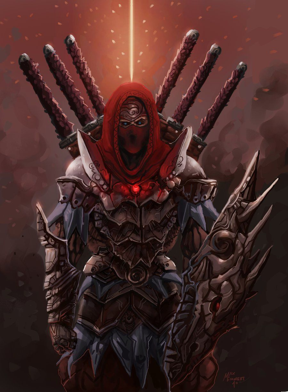 Dragon Warrior By Burnz08 Deviantart Com On  Deviantart