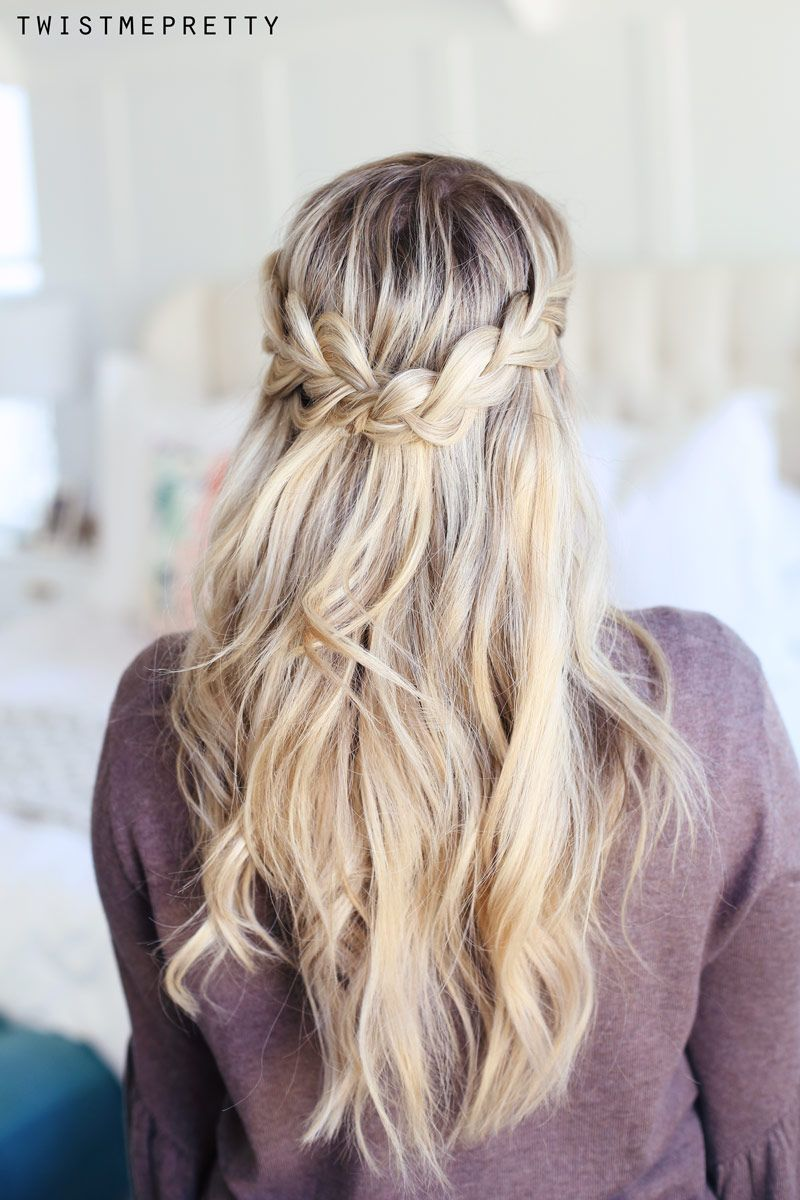 How To Do A Crown Braid 2 Ways With Images Down Hairstyles