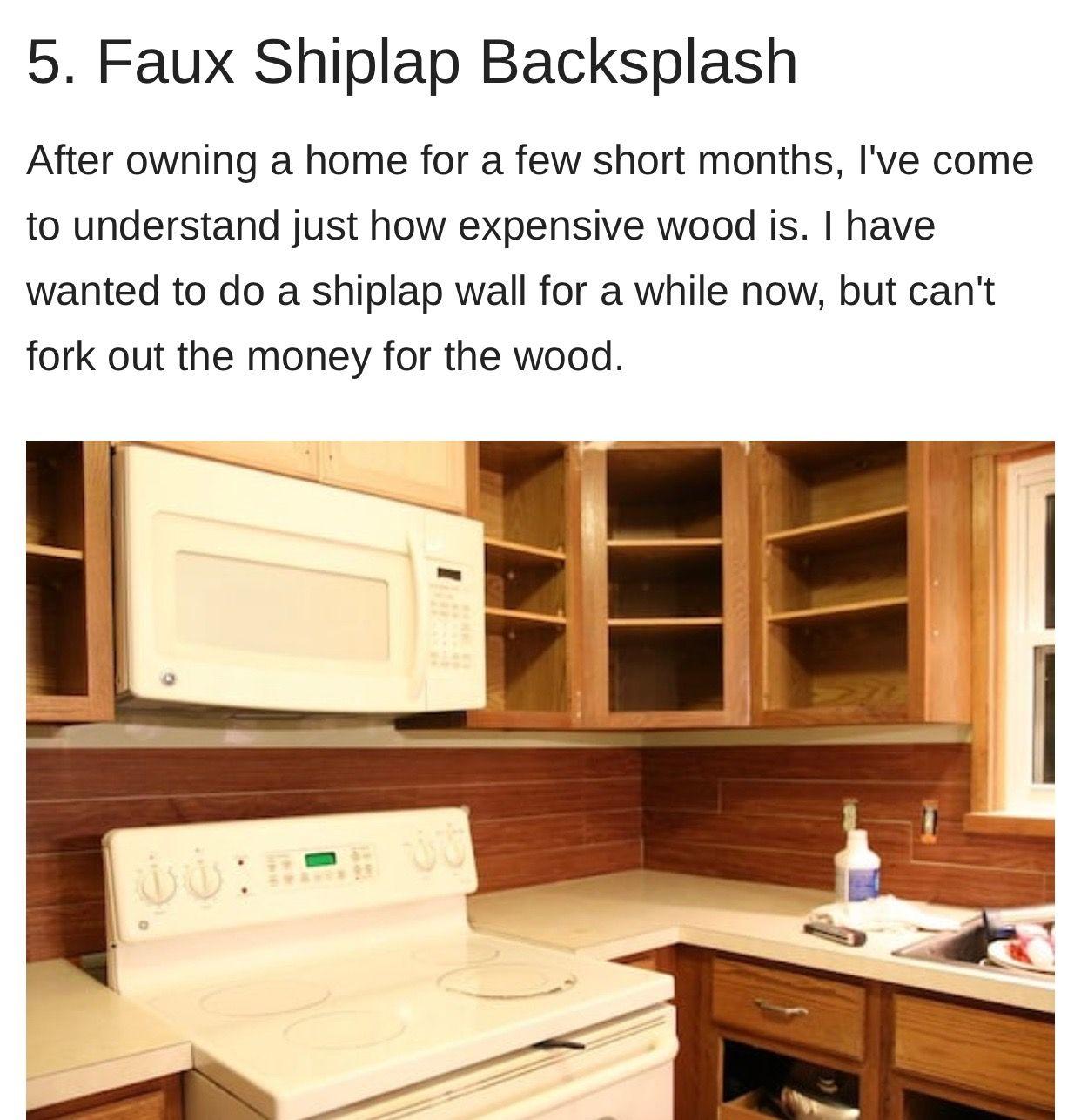 - Pin By Penny Baker On Remodeling Ideas Faux Shiplap, Shiplap