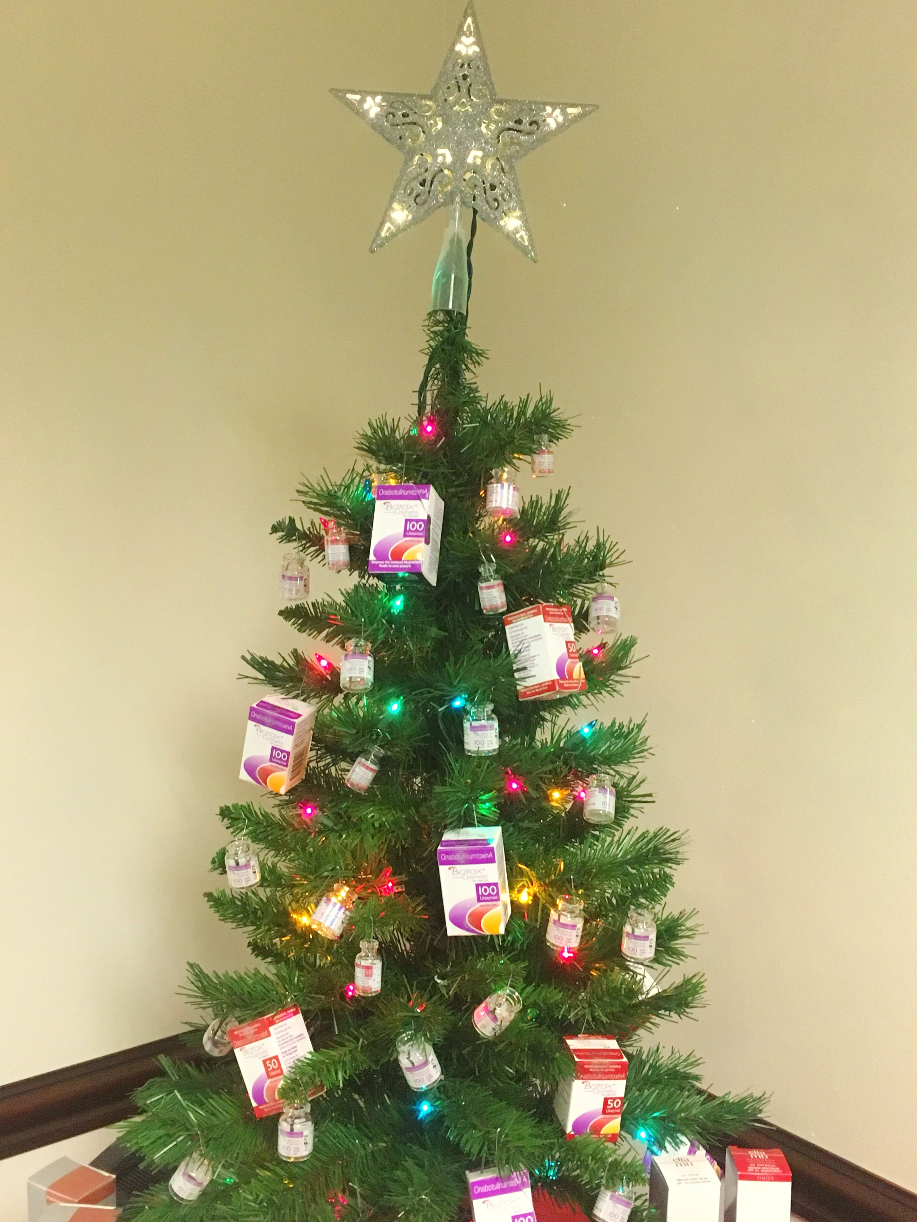 Botox For Christmas Yes Please Botox Christmas Tree Christmas Tree Dermatology Associates Tree