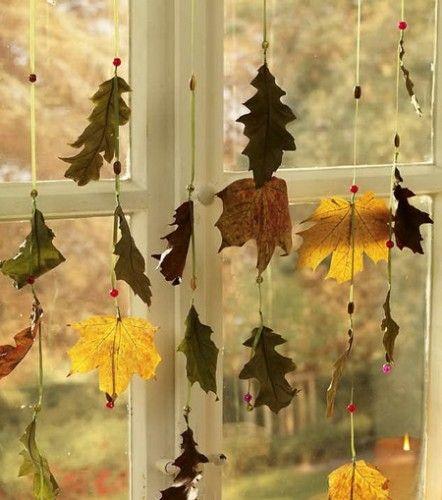 3 beautiful ideas for autumn decor