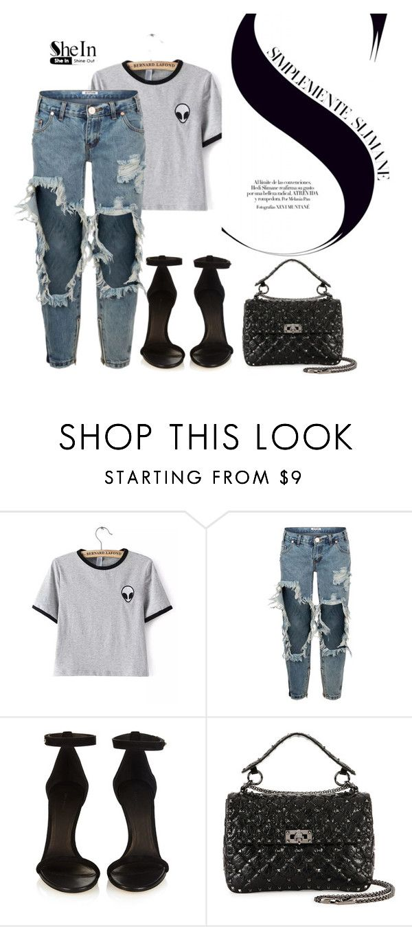 """""""kylie jenner"""" by pinkgirlfloyd ❤ liked on Polyvore featuring One Teaspoon, Isabel Marant and Valentino"""