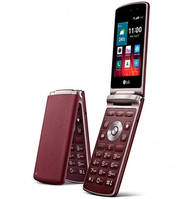 Lg Introduces Android Lollipop Flip Phone Lg Wine Smart Android Flip Phone Flip Phones Phone