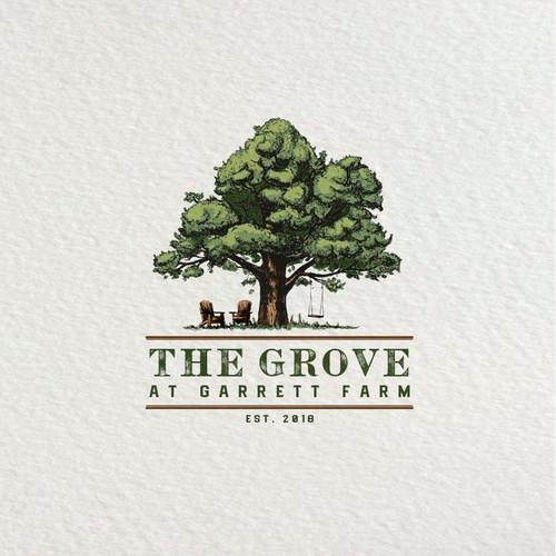 Pin On Vintage Oak Tree Logo