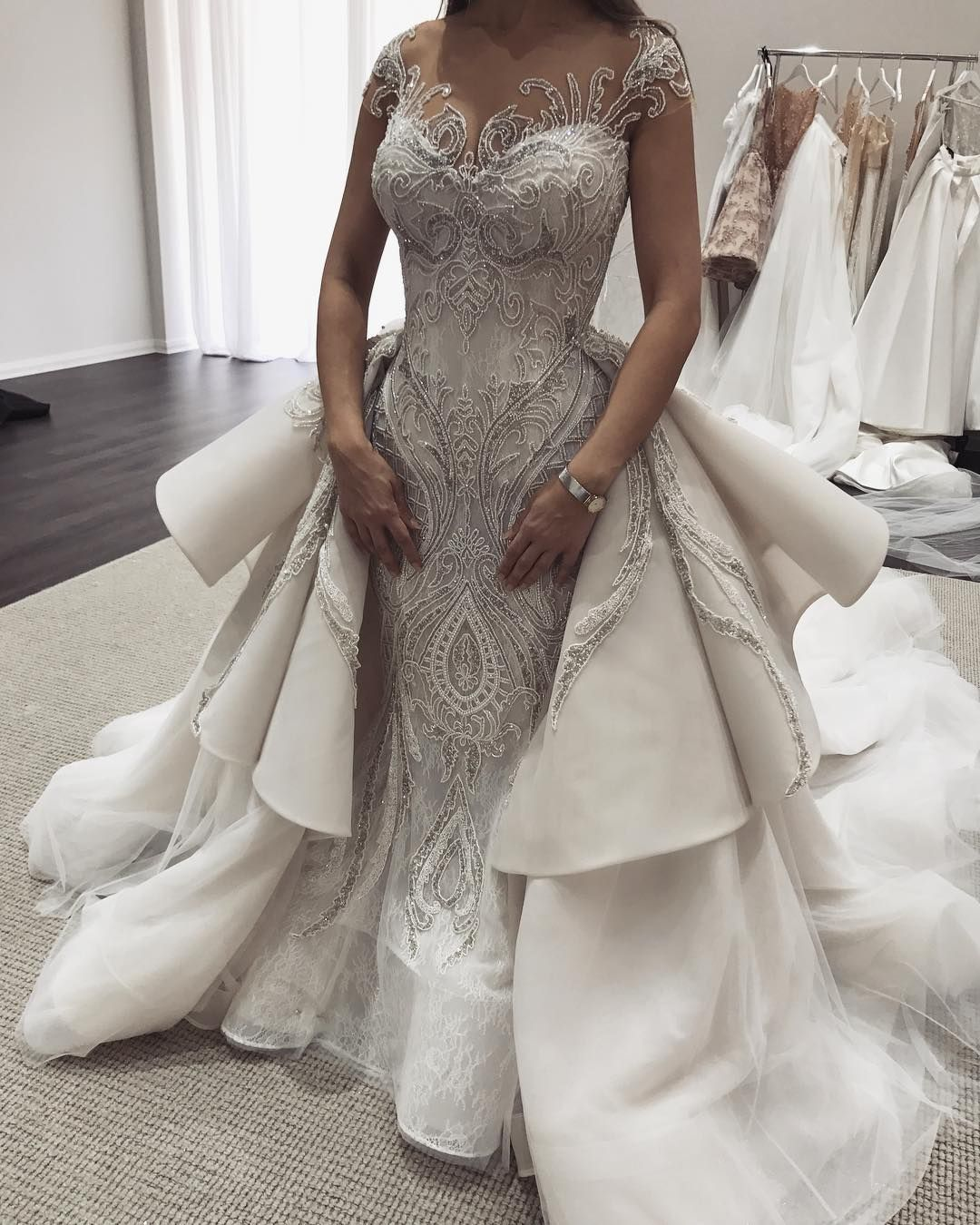 Affordable Custom Wedding Dresses Inspired by Haute Couture designs ...