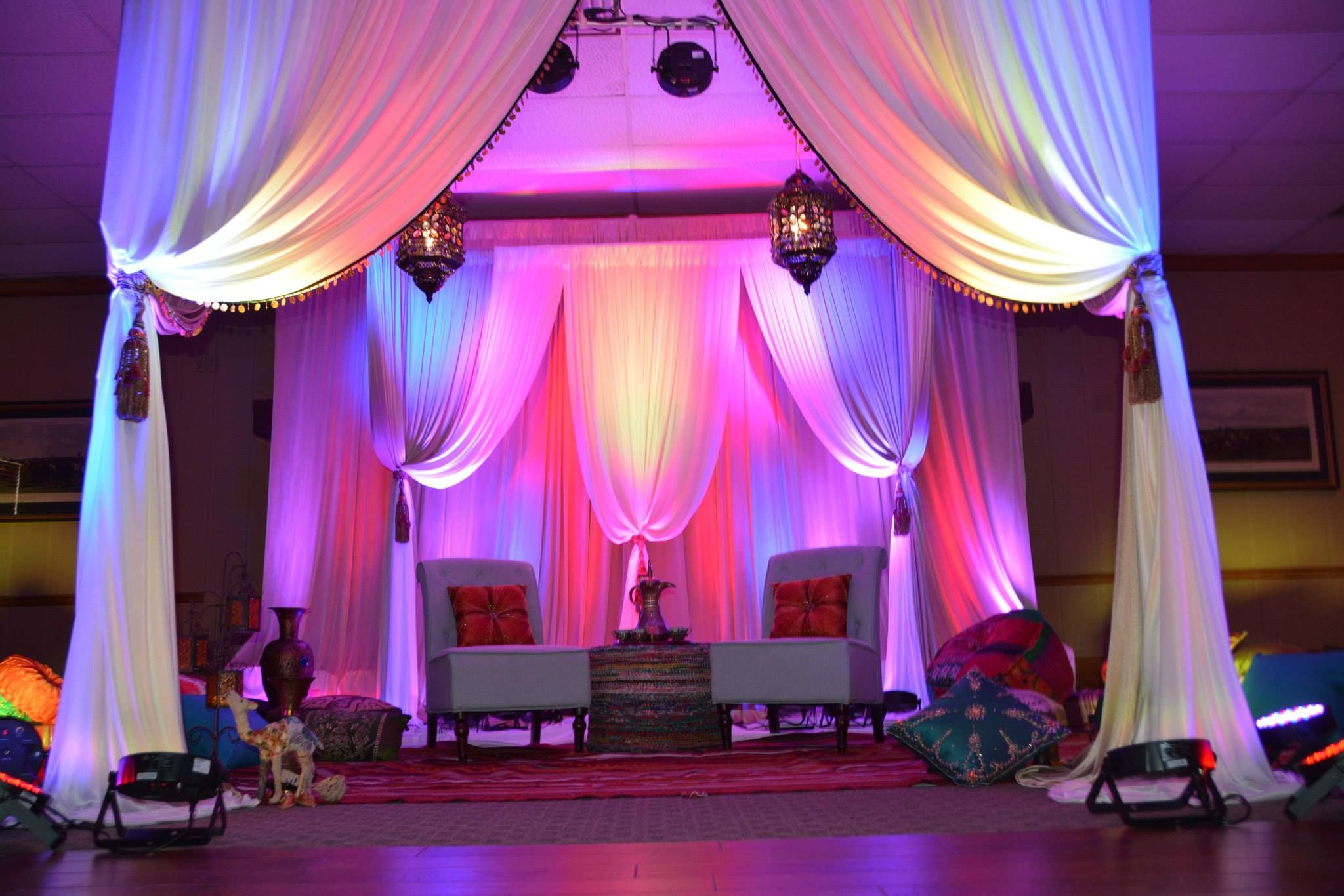 Stunning Middle Eastern Party Decor! | Briday Party/Hennah Party ...