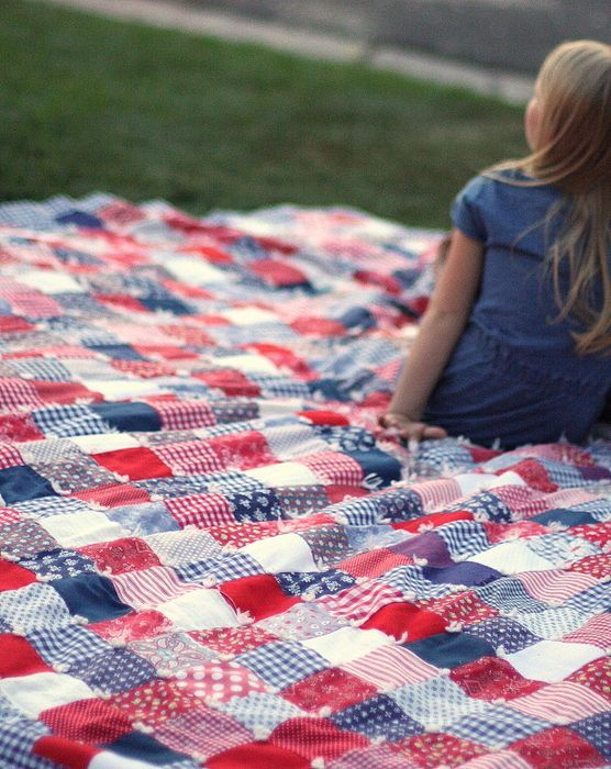 July + Summer handwork projects | Patchwork, Scrap and Patterns : fourth of july quilt pattern - Adamdwight.com