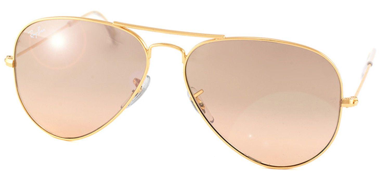 5dab71b627 ... best ray ban aviator classic rb 3025 001 3e gold sunglasses pink mirror  55mm f371c cfaff