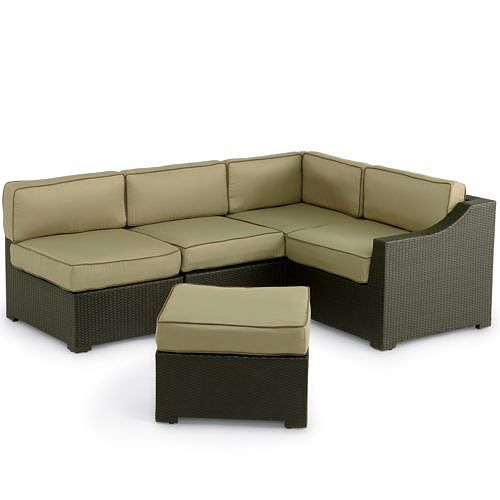 Malibu Sectional Replacement Cushion Set Deck Decor Replacement