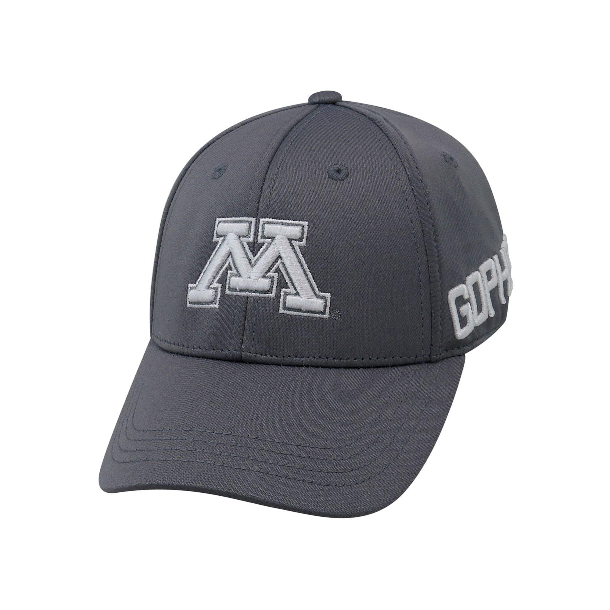 0e84e3b8db5 Youth Top of the World Minnesota Golden Gophers Bolster Mesh Cap, Boy's,  Grey Other