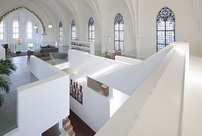 OKO Design Blog: House for sale... living in a church??