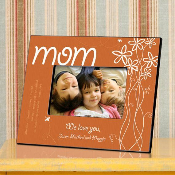 Personalized Mothers Day Frame Personalized Picture Frame For Mom