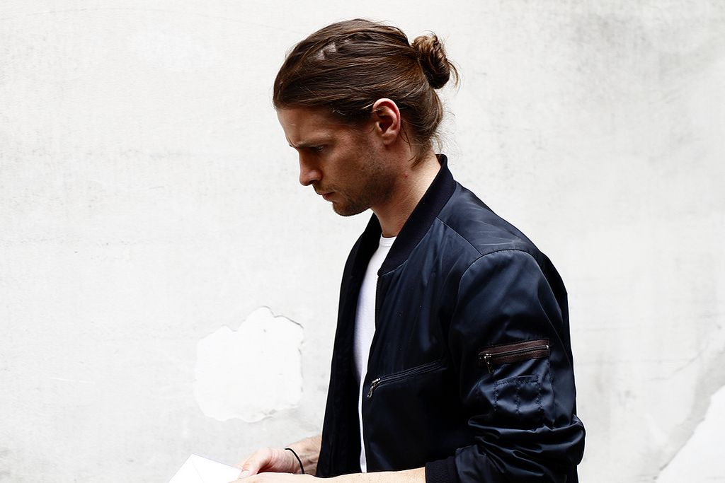 1000  images about Mens Bomber Jackets on Pinterest | Mens leather
