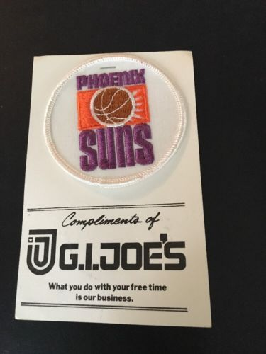 3d0c688d576 1970 s Vintage G.I. Joe s Phoenix Suns NBA Patch Very Rare please retweet