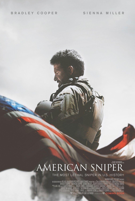 american sniper extra large movie poster image internet. Black Bedroom Furniture Sets. Home Design Ideas
