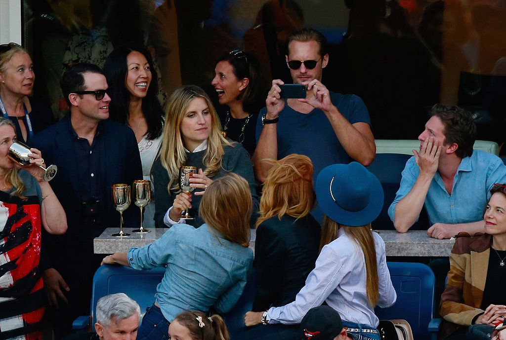 alexander skarsgard london | Alexander Skarsgard snapped a picture for Jessica Alba and her friends ...