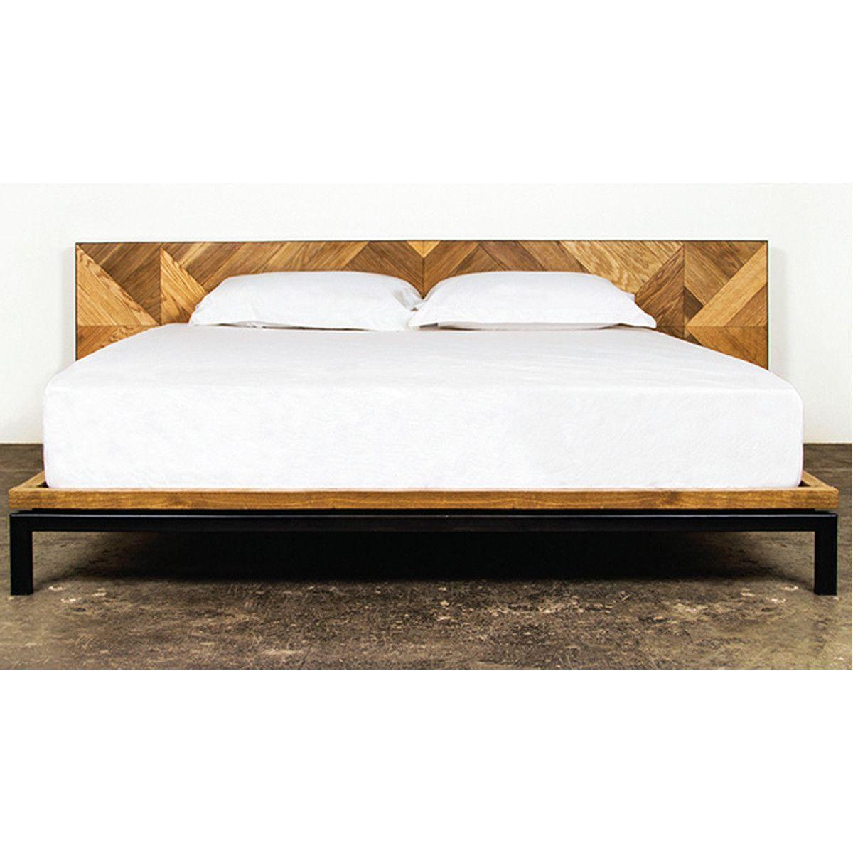 Nuevo Living Drake Low Bed