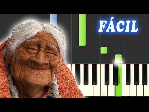 Recuerdame Coco Facil Piano Tutorial Youtube Piano Lessons Piano Tutorial Piano Disney