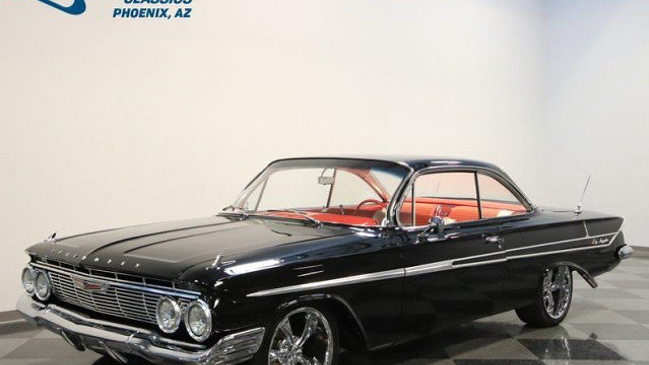 1961 Chevrolet Impala For Sale Near Meza Arizona 85204 Classics