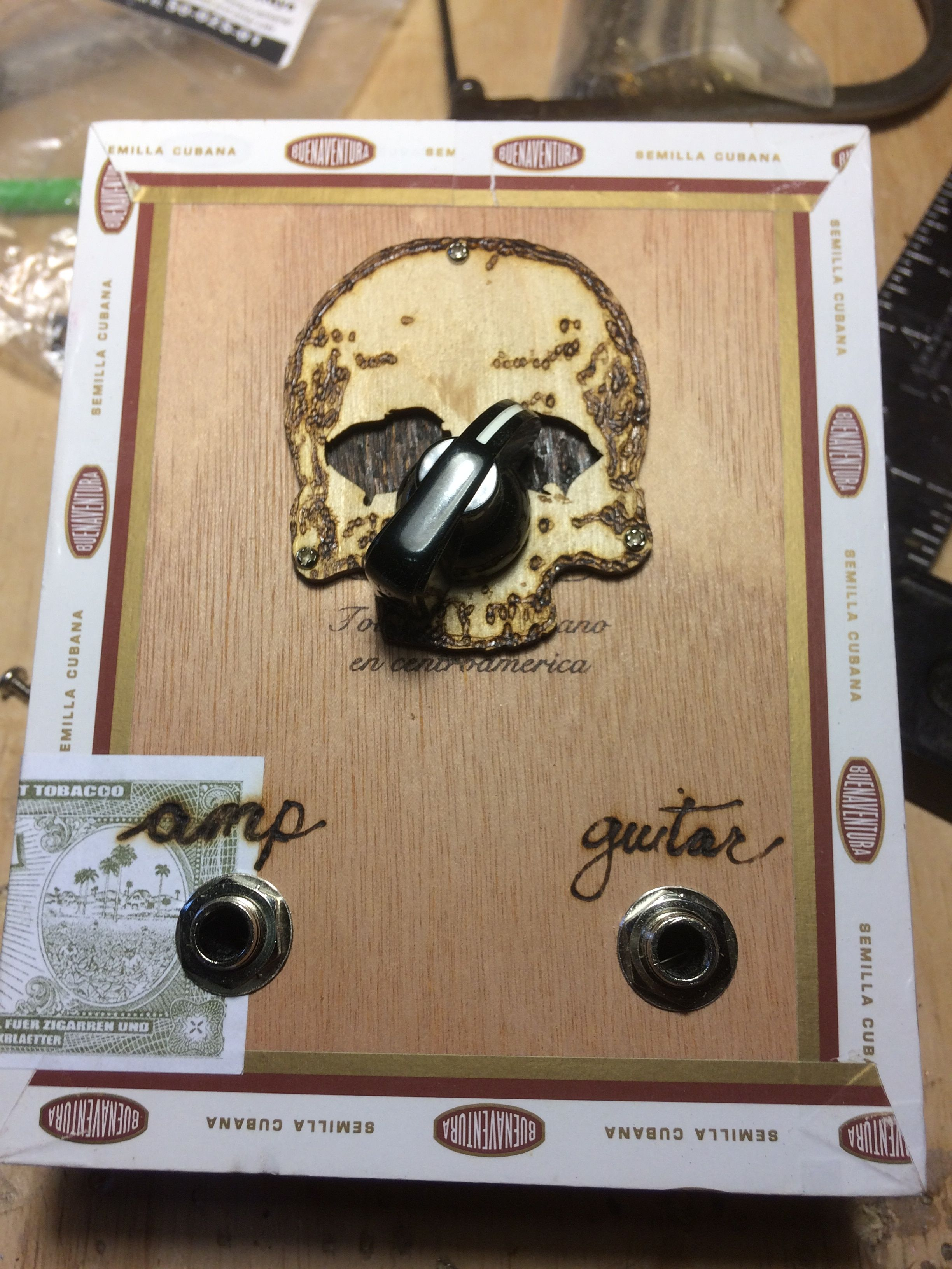Build a Cigar Box Distortion Unit With This Easy Hack in 2019