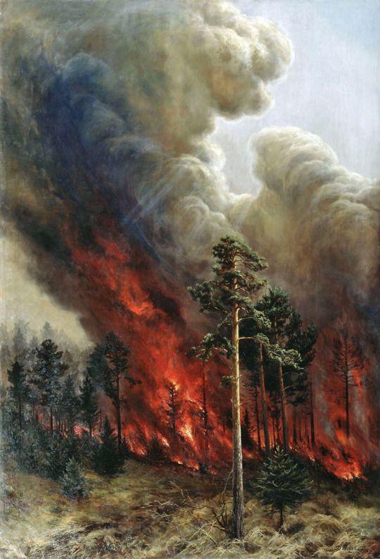 veareflejos | Fire painting, Fire art, Fire drawing