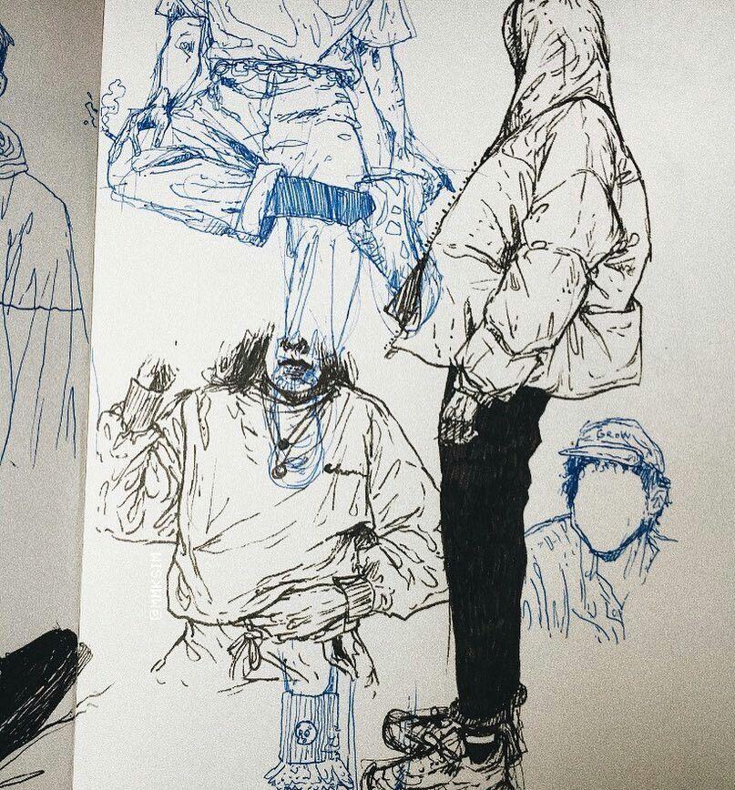 Doğa Erdoğan Adlı Kullanıcının Sketchbook Ideas Drawing