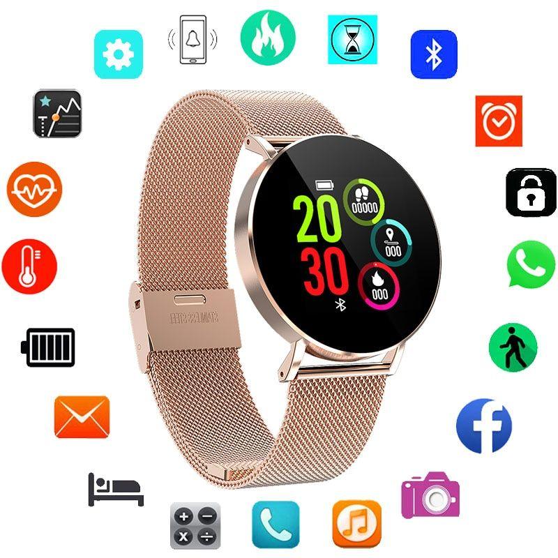 Top Luxury Smart Watch Women Watches Famous Brand New 2019 Ladies Wrist Watch For Women Clock Kadin Luks Saatler