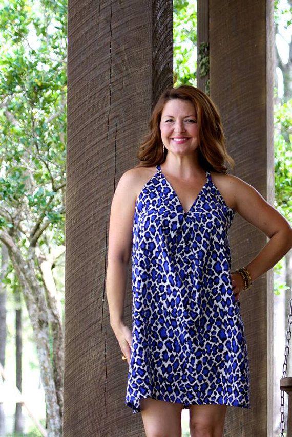Women Sewing Pattern, PDF pattern Swing Dress, tunic pattern ...