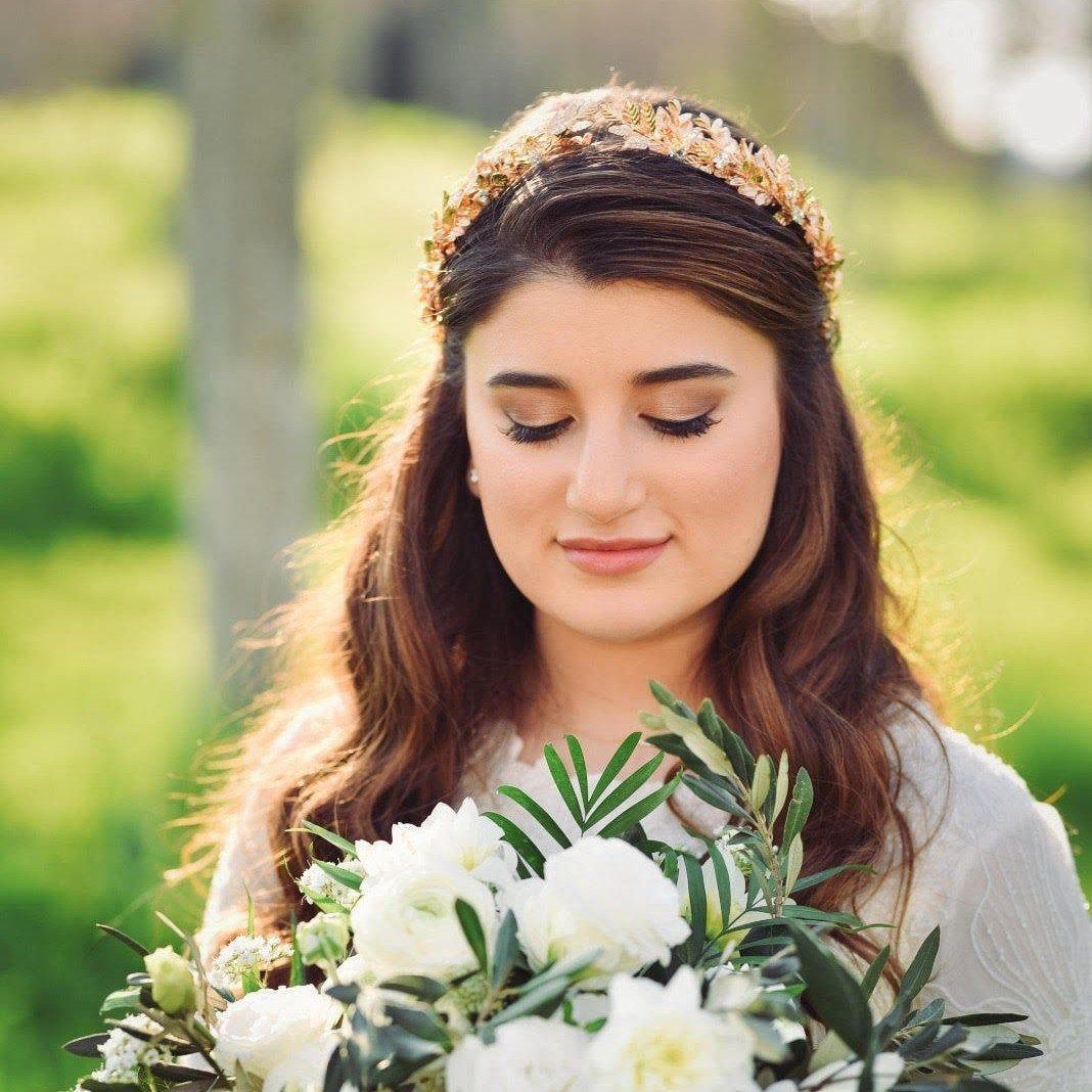 Beautiful Biano Bride Tvizia Bridal Crown Rose Gold Wedding Tiara Rose Gold Bridal Leaf Tiara Braut F Headpiece Wedding Wedding Headpiece Grecian Headband
