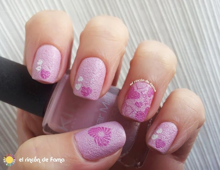 San Valentin Nail Art Sugar Kiko 636 Bundle Monster