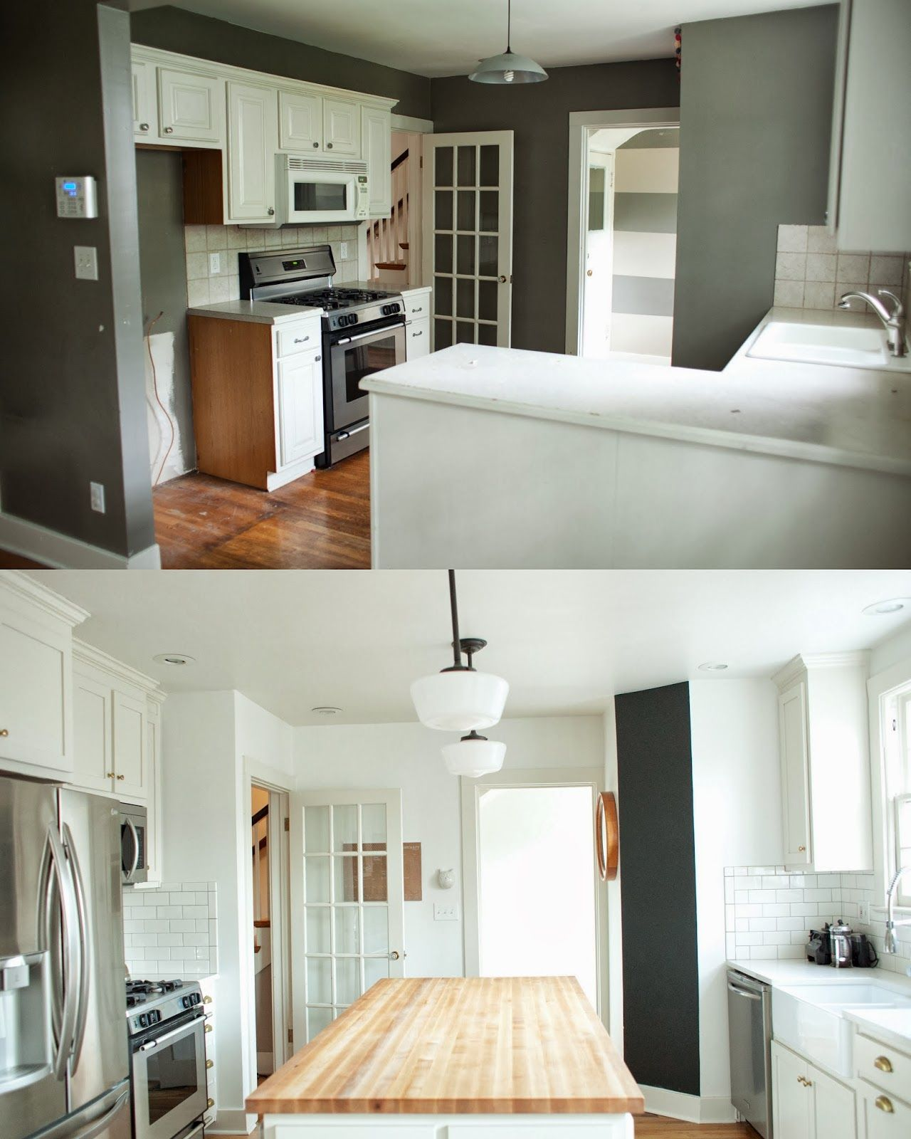 from the nato\'s: kitchen renovation before and after | Kitchen ...