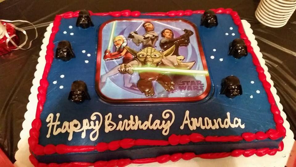 8eb707c52c Star Wars Sam s Club Cake  Starwars  Starwarscake  SamsClub ...