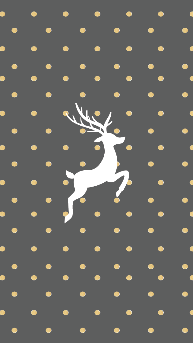 Gold And Grey Free Christmas Iphone Wallpapers Wallpapers