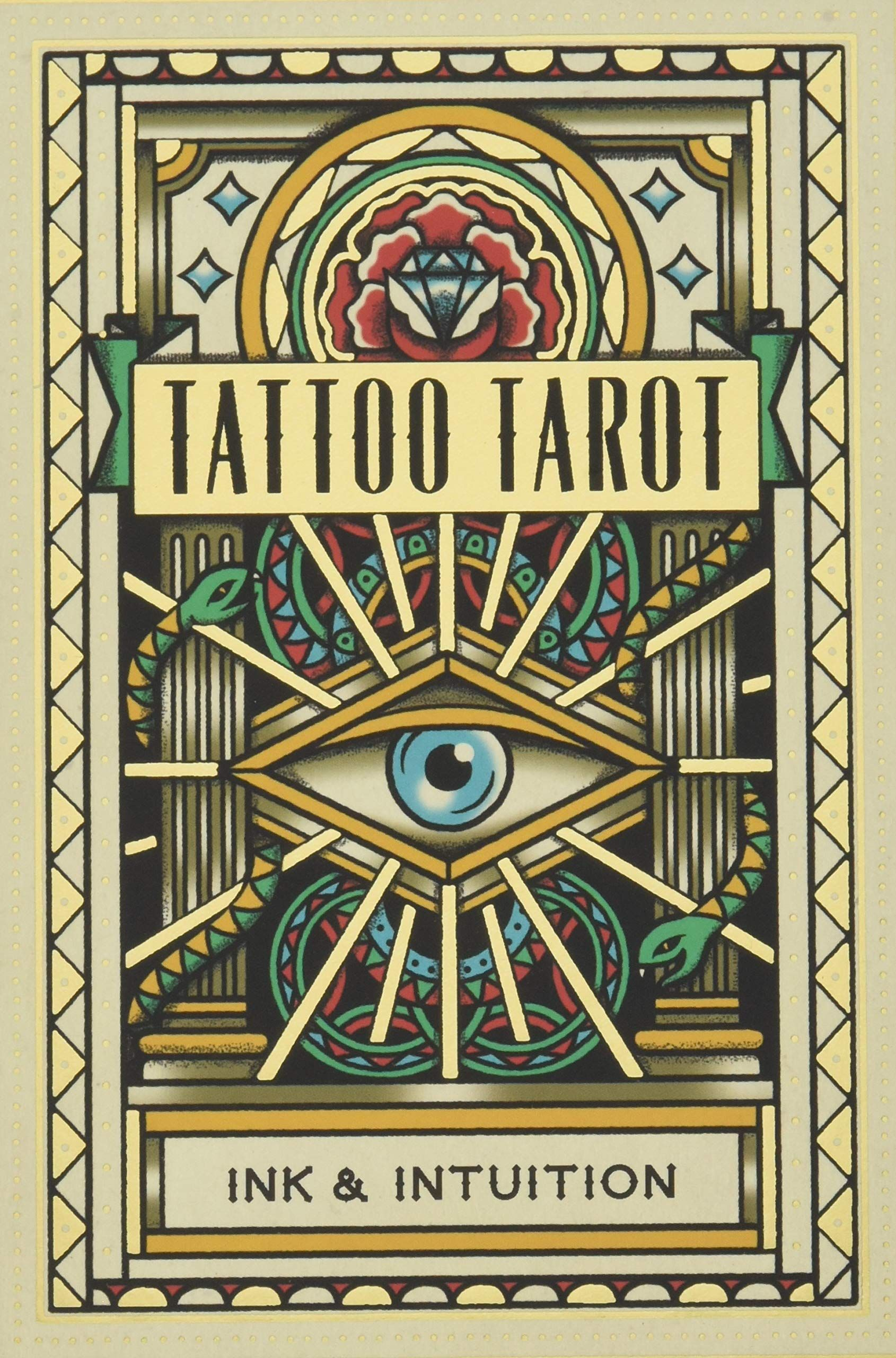 The Set Contains The 78 Cards Of The Tarot Deck Luxuriously Packaged In A Gift Box A 28 Page Booklet Explains How To I Tarot Tattoo Coloring Book Book Tattoo
