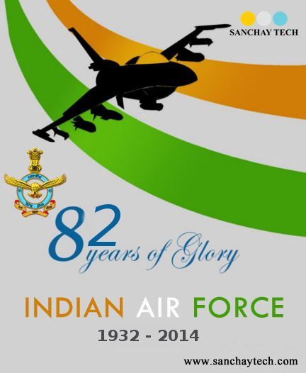 On 82nd Anniversary of #IndianAirForce, We salute our brave #Soldiers who devote their life to protect us from national threats.