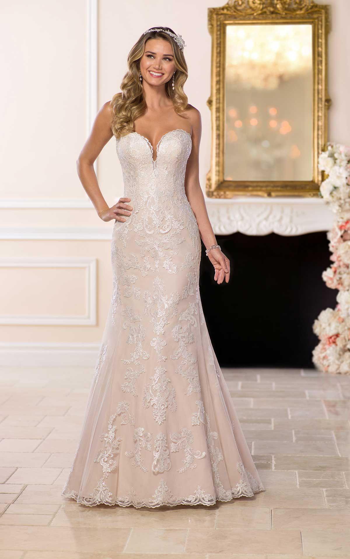 Stella York #6585 - This designer wedding dress features all over ...