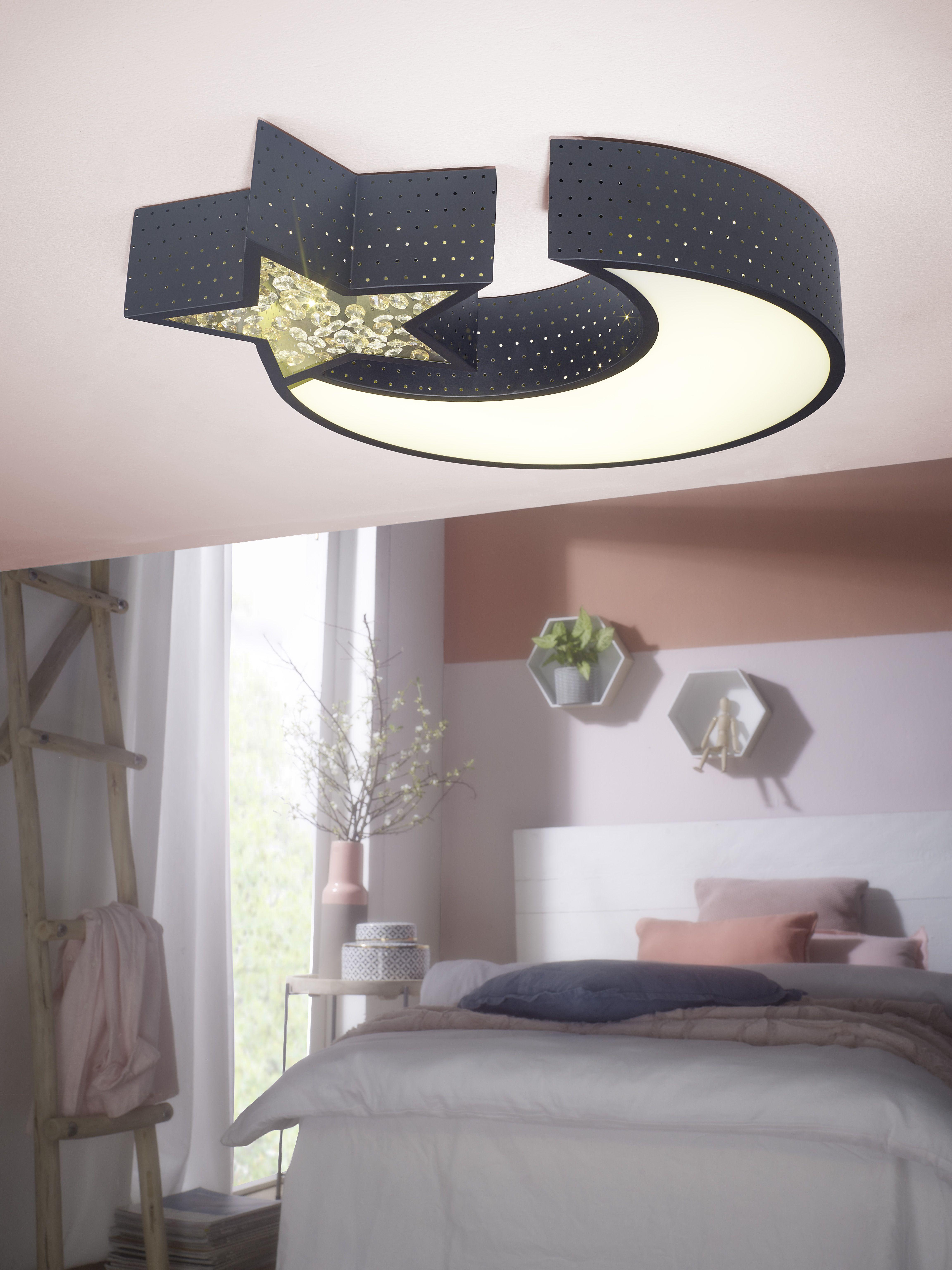 Mond /& Sterne Schlafzimmer Kronleuchter Lampe Beleuchtung Deckenleuchte