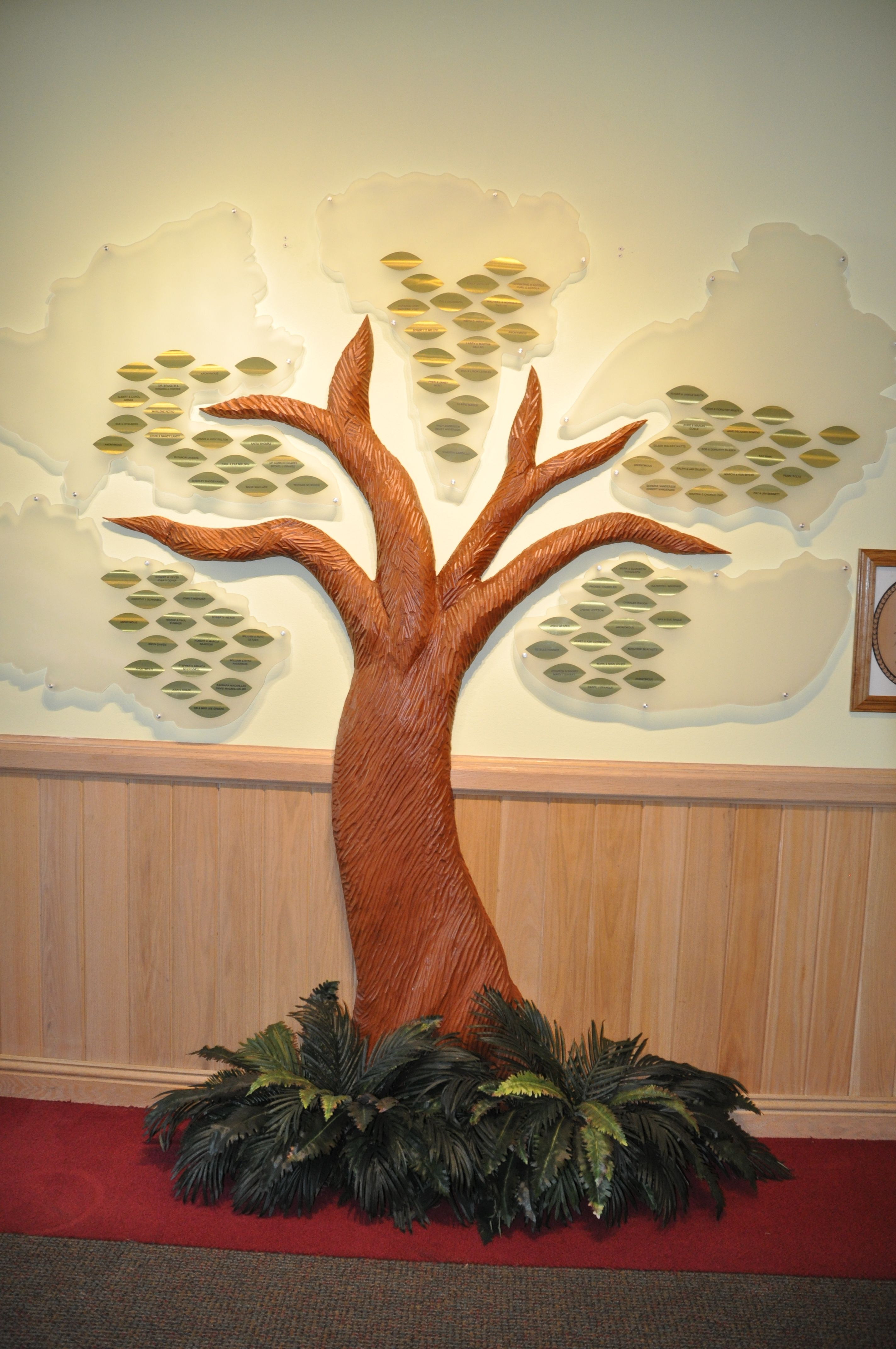 donor #donorrecognition #donorart #donordisplay #display #corian ...