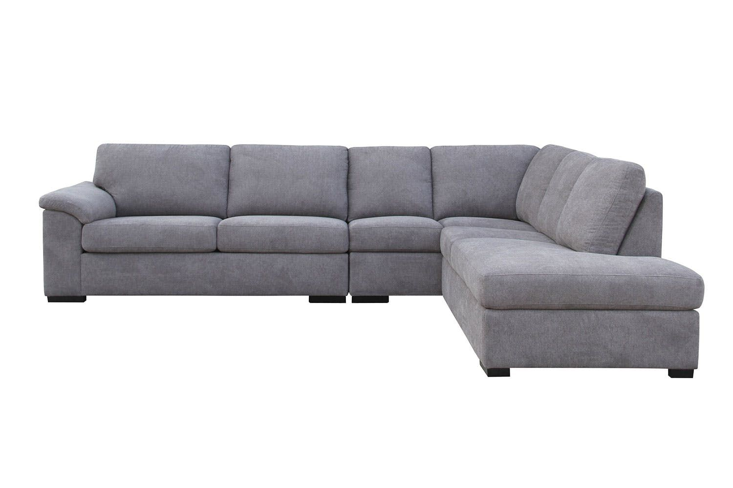 Nebula 5 Seater Fabric Corner Lounge Suite With Sofa Bed Harvey Norman New Zealand Lounge Suites Sofa Bed Lounge