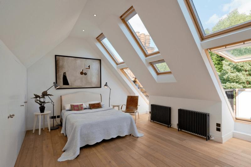 Schlafzimmer Deko Dachschräge