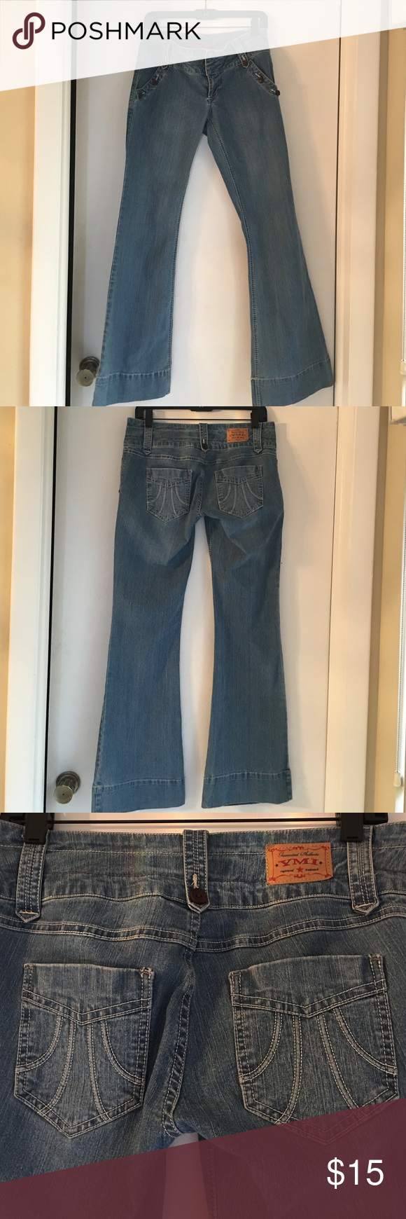 YMI Jeans size 7 Never worn jeans size 7 super comfortable very flattering YMI Jeans Flare & Wide Leg
