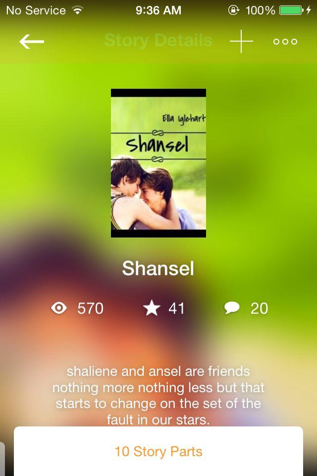 Read my shansel!!!!!!!!!!!!! Get me to 600!!!!!!!!! On wattpad!!