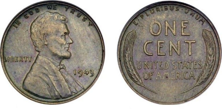 Image result for 1943 copper penny value