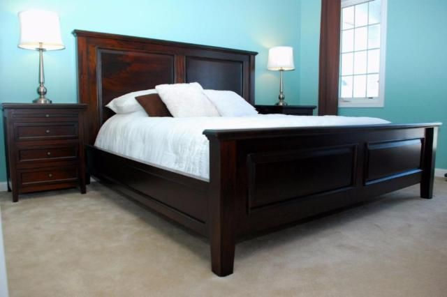 other items for sale: solid wood bedroom set $4000, king bed $1450 king sleigh…